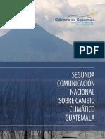 2da. Comunicación Cambio Climático