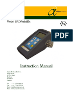 1405 SADPminiEx User Manual