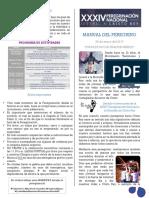Manual Del Peregrino 2017
