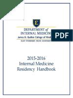 Residents Handbook