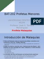 BAT-202 Profetas Menores Malaquías