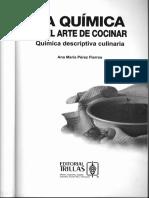 Química descriptiva culinaria