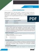 12- Modulo 1 Ejercicio Acta de Constitucion