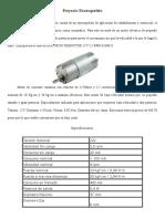 Motores y Sensores