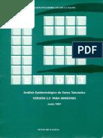 Epidat 2.0 Analisis Epidemiologico de Datos Tabulados