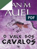O Vale Dos Cavalos - Vol 2 Saga Os Filhos da Terra - Jean M. Auel