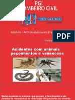 Acidentes Com Animais Venenosos e Peçonhentos