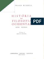 História Da Filosofia Ocidental - Vol I - Bertrand Russell