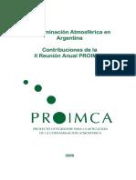 Contaminación Atmosférica en Argentina - PROIMCA
