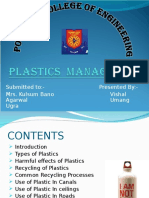 Plastic Management