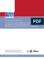 Evidence Related to Cancer for the World Trade Center Health Program