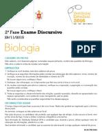 2016 ED Biologia
