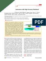 Van Der Waals Heterostructures With High Accuracy Rotational