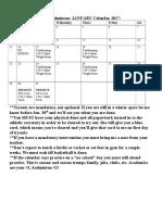 badminton calendar 2017