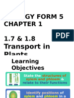 Biology Form 5 Chapter 1 (1.7 & 1.8)