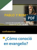 PABLO Y ROMA