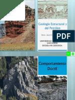 Geología Estructural y Del Petróleo[Comportamiento Dúctil]