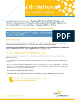 Prior Authorization How It Works - Member