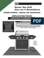 810-8410-5 Brinkmann Gas Grill