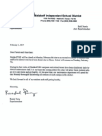 Perry Letter