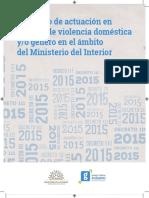 Protocolo Violencia Doméstica Ministerio Del Interior