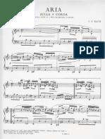 Bach-Aria Sulla QUARTA Corda