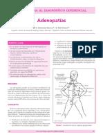 Adenopatías en Pediatria