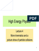 Kinematics of Particle Decay