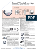 Dwyer 2300 250pa Pressure Gauge Datasheet