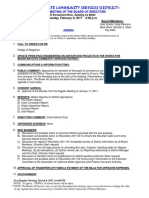 Agenda Feb 2017