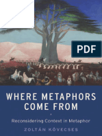 Zoltan Kovecses-Where Metaphors Come From_ Reconsidering Context in Metaphor-Oxford University Press (2015)