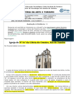 Ad1 História Da Arte Rosinaldo Araujo Lima - Joel Da Silva Ferreira Niterói