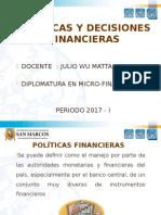 Políticas y Decisiones Financieras