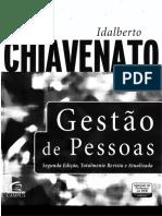 Livro Gestao de Pessoas Chiavenato