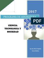CTS- Programa de Asignatura_2017-I