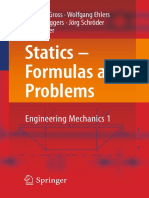 Dietmar Gross, Wolfgang Ehlers, Peter Wriggers, Jörg Schröder, Ralf Müller-Statics - Formulas and Problems_ Engineering Mechanics 1-Springer-Verlag (2017).pdf