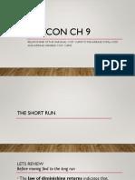 ap ch 9 short run review