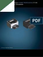 Laserjet Professional p1100