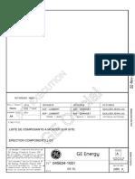 045634-1051_Erection Components List_Rev A