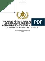 MODIFICACION SALARIOS 2017