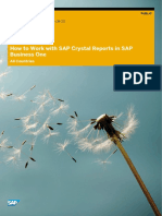 How to Work With SAP Crystal Reports in SAP Business One 9.1