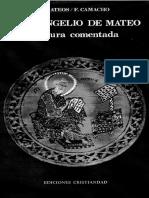 El Evangelio de Mateo_lectura Comentada_mateos y Camacho.