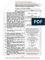 CA IPCC Law Guideline Answers May 2015