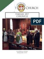 Christ Church February Chronicle 2017
