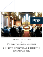Christ Church Annual Meeting 2017
