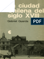 Guarda-la Ciudad Chilena Del Siglo Xix