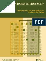 ESTÁNDARES EN EDUCACIÓN. Implicancias para su aplicación en América Latina