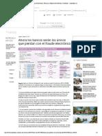 FRAUDE ELECTRONICO Y RESPONSABILIDAD BANCARIA - COLOMBIA
