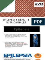 7 y 8 Epilepsia y Déficits Nutricionales