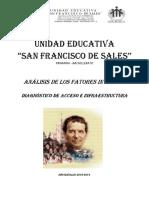 ANALISIS de LOS FACTORES INTERNOS - Diagnóstico de Acceso e Infraestructura